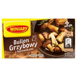 Winiary - Bulion grzybowy z borowikami, 6 kostek, masa netto: 60 g
