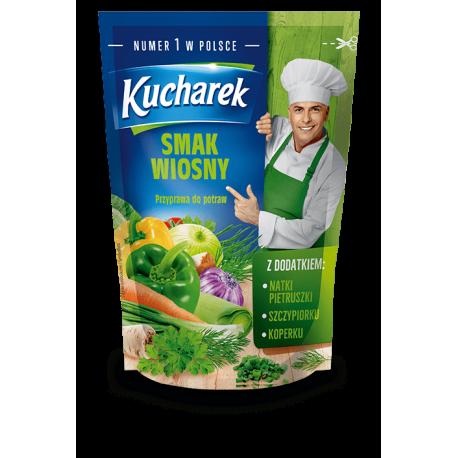 Kucharek - Smak Wiosny, przyprawa do potraw, masa netto: 175 g