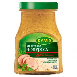 Kamis - musztarda rosyjska, masa netto: 180 g
