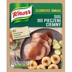 Knorr Ulubione Smaki - sos do pieczeni ciemny, masa netto: 29 g