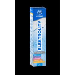 Plusssz Elektrolity - tabletki musujące, suplement diety, 24 szt.