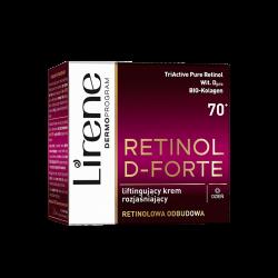 Lirene Retinol D-Forte - liftingujący krem rozjaśniający 70+ na dzień, poj. 50 ml