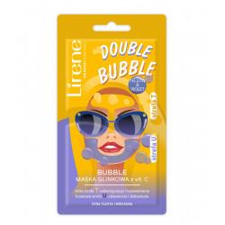 Lirene Bubble - maska glinkowa z vit.C, cera tłusta i mieszana, poj. 5 g + 5 g