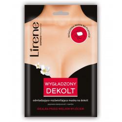 Lirene Wygładzony Dekolt - odmładzająco-rozświetlająca maska na dekolt, 1 sztuka