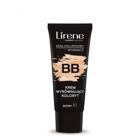 Lirene - BB krem wyrównujący koloryt, beżowy 01, poj. 30 ml