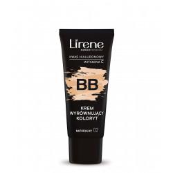 Lirene - BB krem wyrównujący koloryt, naturalny 02, poj. 30 ml
