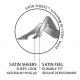 Silver Party w.08 - błyszczące rajstopy wzorzyste z cyrkoniami z przędzą typu Lurex 20 DEN