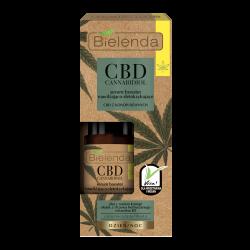 Bielenda CBD Cannabidiol - serum booster nawilżająco-detoksykujące z CBD z konopi siewnych cera mieszana/ tłusta, poj. 15 ml
