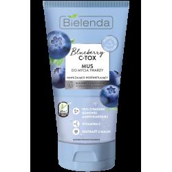 Bielenda BLUEBERRY C-TOX - Mus do mycia twarzy, poj. 135 g