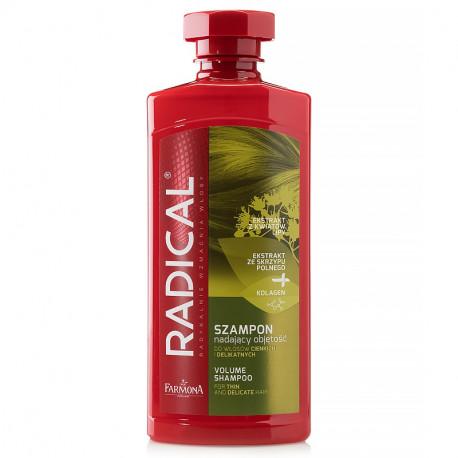 Radical - szampon nadający objętość do włosów cienkich i delikatnych, poj. 400 ml
