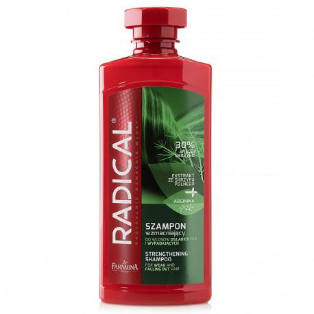 Radical - Szampon wzmacniający do włosów osłabionych i wypadających, poj. 400 ml