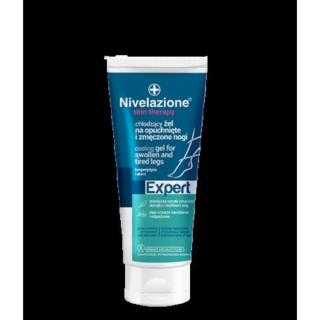 Nivelazione Skin Therapy Expert - chłodzący żel na opuchnięte i zmęczone nogi z kasztanowcem, arniką i hesperydyną, poj. 150 ml