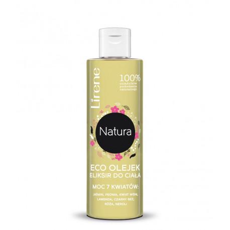 Lirene Natura Pielęgnacja Ciała - ECO olejek eliksir do ciała, moc 7 kwiatów, poj. 100 ml
