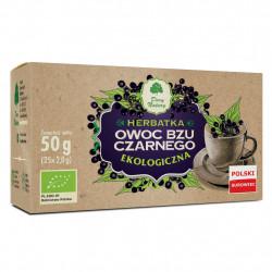 Dary Natury - Herbatka Bez Czarny Owoc EKO, poj. 25 saszetek x 2 g