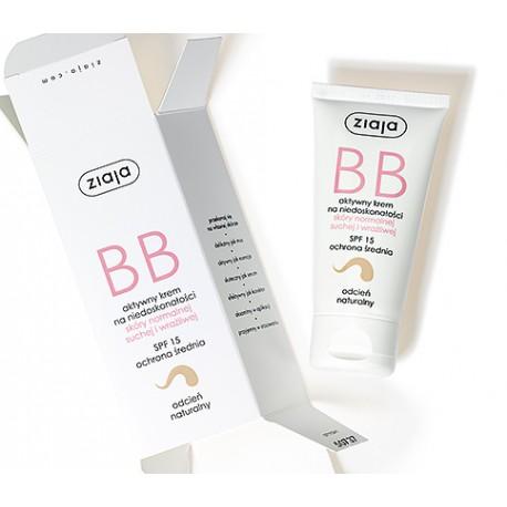 Krem BB do skóry normalnej, suchej i wrażliwej odcień naturalny, poj. 50 ml.