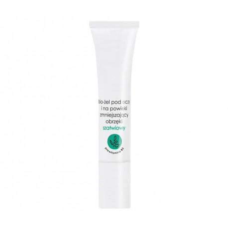 Bio - żel pod oczy i na powieki zmniejszający obrzęki szałwiowy, poj. 15 ml.