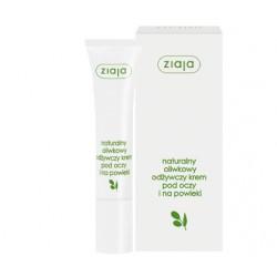 Naturalny oliwkowy krem pod oczy i na powieki, poj. 15 ml.