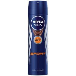 NIVEA Men Sport 48 h - antyperspirant do ciała w aerozolu, poj. 150 ml