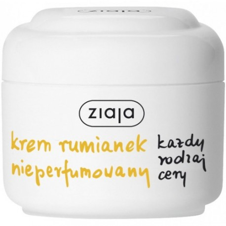 Krem rumiankowy nieperfumowany, poj. 50 ml.