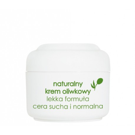 Naturalny krem oliwkowy lekka formuła, poj. 50 ml.