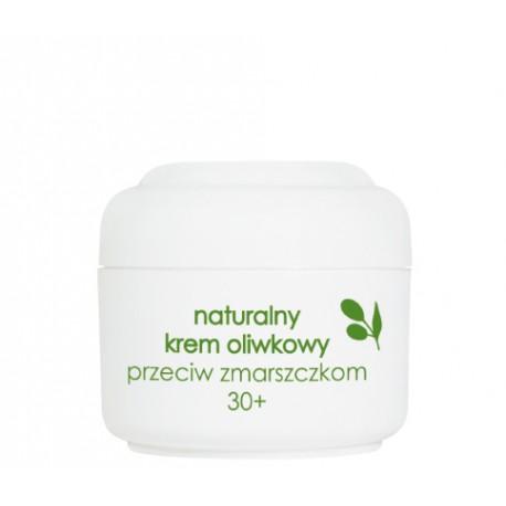Naturalny krem oliwkowy przeciw zmarszczkom 30+, poj. 50 ml.