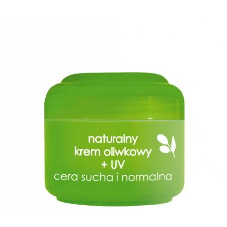 Naturalny krem oliwkowy + UV, poj. 50 ml.