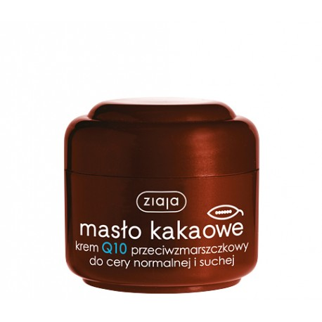 Masło kakaowe- krem Q10 przeciwzmarszczkowy, poj. 50 ml.