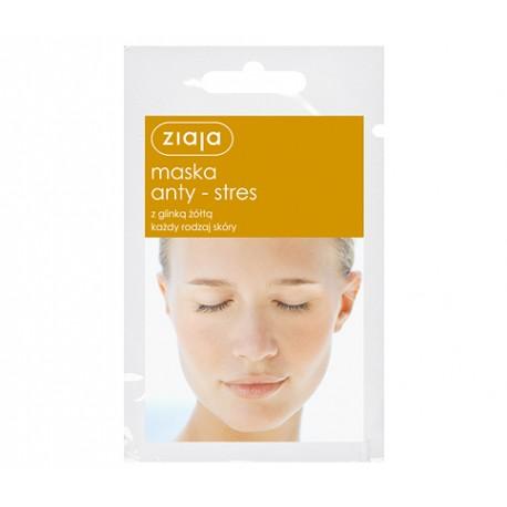 Maska anty-stres z glinką żółtą, poj. 7 ml.