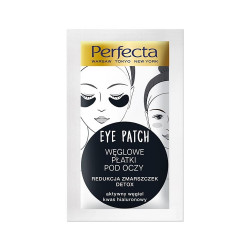 Perfecta Eye Patch - węglowe płatki pod oczy, redukcja zmarszczek, detox