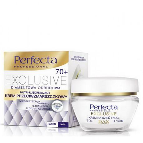 Perfecta Exclusive - nutri-ujędrniający krem przeciwzmarszczkowy 70+, na dzień i na noc, poj. 50 ml