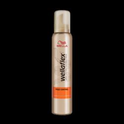 Wella Wellaflex Frizz Control - pianka do układania włosów Extra Strong Hold 4/5, poj. 200 ml