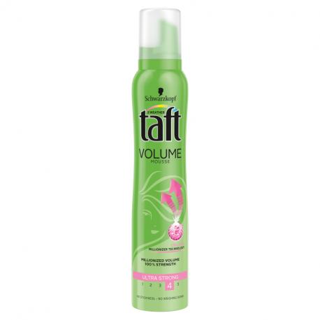 Taft Volume - pianka do włosów zwiększająca objętość (ultra strong 4/5), poj. 200 ml