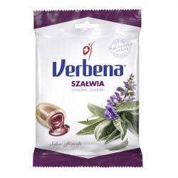 Verbena - cukierki ziołowe, szałwia, 60 g
