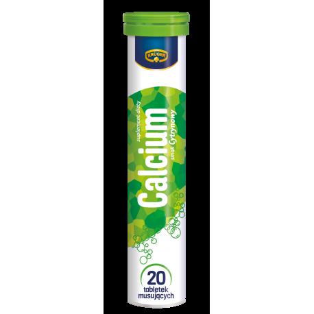 Kruger Calcium - tabletki musujące o smaku cytrynowym, 20 szt.