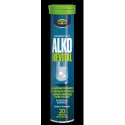 Kruger Alko Revital - tabletki musujące o smaku cytrynowym, 20 szt.