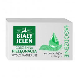 Biały Jeleń Łagodzenie - mydło naturalne na bazie olejów roślinnych, masa netto: 85 g