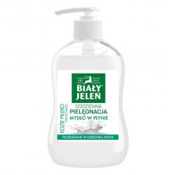 Biały Jeleń Kozie Mleko - mydło w płynie, poj. 300 ml