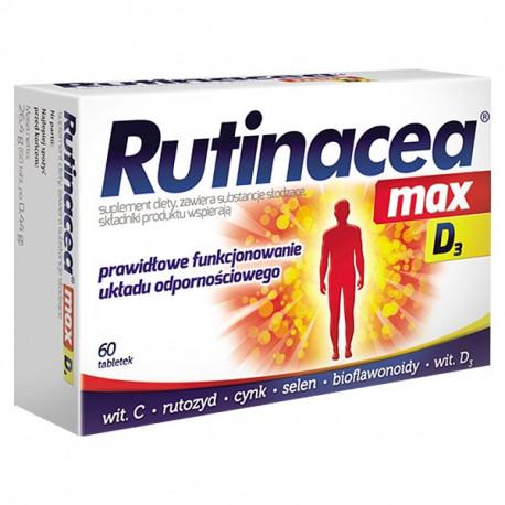 Rutinacea max D3 - tabletki, 60 szt.