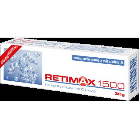 Retimax 1500 - maść ochronna z witaminą A, 30 g