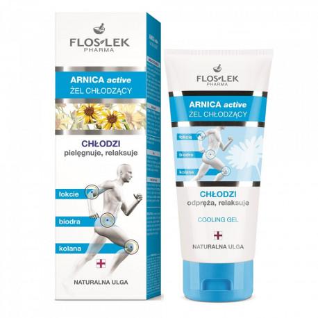 Floslek Pharma Arnica Active - żel pielęgnujący CHŁODZI, poj. 200 ml