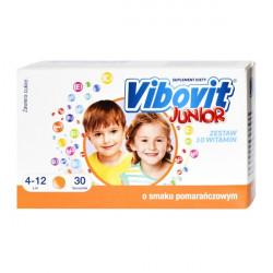 Vibovit Junior - suplement witaminowy o smaku pomarańczowym, poj. 2g x 30 saszetek