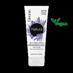 Lirene Natura Pielęgnacja Ciała - Eco krem-serum regenerujące do stóp, poj. 75 ml