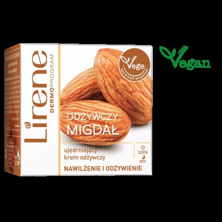 Lirene Nawilżenie i Odżywienie - Odżywczy Migdał, ujędrniający krem odżywczy na dzień i na noc, poj. 50 ml