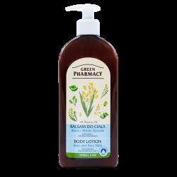 Green Pharmacy - balsam do ciała, aloes i mleko ryżowe, poj. 500 ml