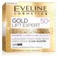 Eveline Gold Lift Expert - luksusowy multi-odżywczy krem-serum z 24k złotem 50+, na dzień i na noc, poj. 50 ml