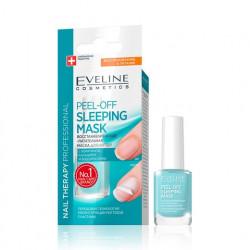 Eveline Nail Therapy Professional - PEEL-OFF SLEEPING MASK, odbudowująco-odżywcza maska do paznokci, poj. 12 ml