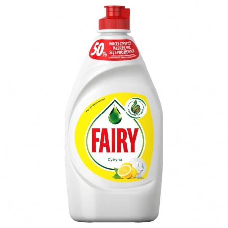 Fairy - Cytryna, płyn do mycia naczyń, poj. 450 ml