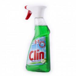 Clin Windows & Glass - płyn do mycia szyb 2w1, APPLE, poj. 500 ml