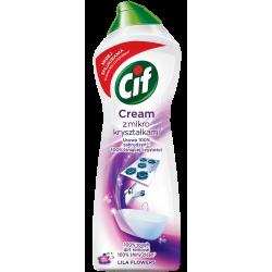 Cif - Cream, mleczko do czyszczenia z mikrokryształkami, Lila Flowers, masa netto: 780g