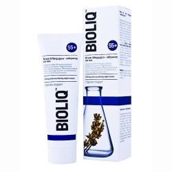 BIOLIQ 55+. Krem liftingująco-odżywczy na noc, poj. 50 ml.